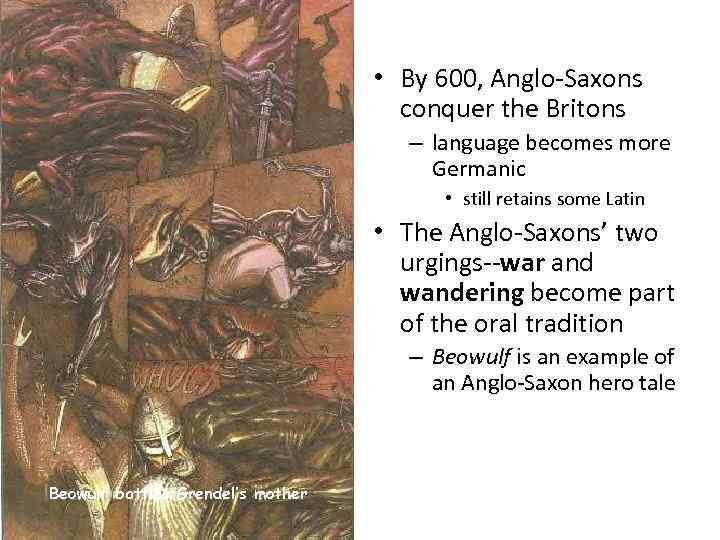 a comparison of the greek hero and the anglo saxon hero A brief lesson on the early history of the anglo-saxons and the influences on the early epic poem \beowulf\.
