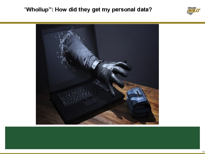 """Whollup"": How did they get my personal data? 18"