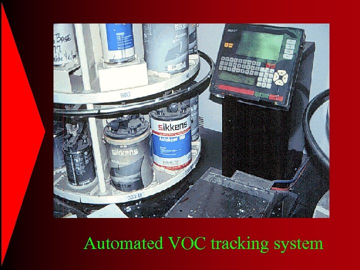 Automated VOC tracking system