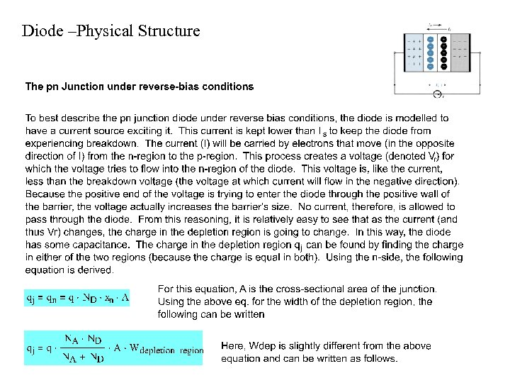Diode –Physical Structure