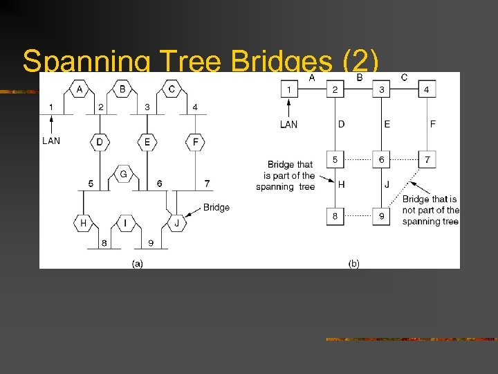 Spanning Tree Bridges (2)