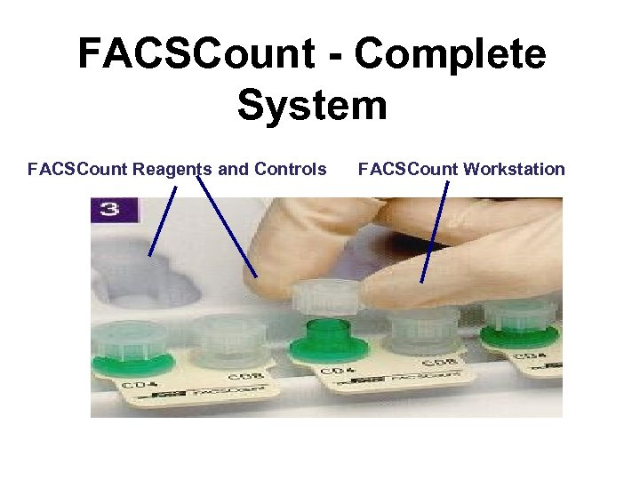FACSCount - Complete System FACSCount Reagents and Controls FACSCount Workstation