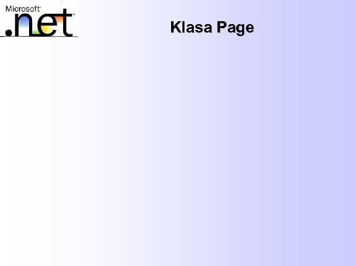 Klasa Page