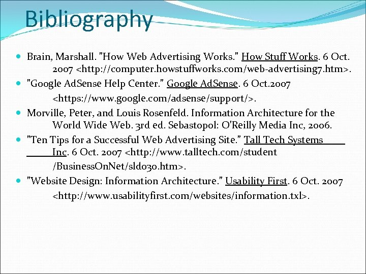 Bibliography Brain, Marshall.