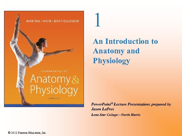 1 An Introduction to Anatomy and Physiology Power. Point® Lecture Presentations prepared by Jason
