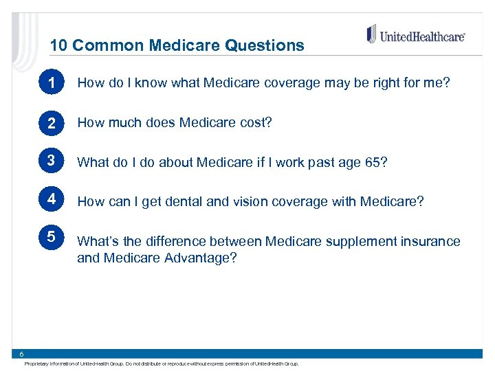 10 Common Medicare Questions 1 How do I know what Medicare coverage may be