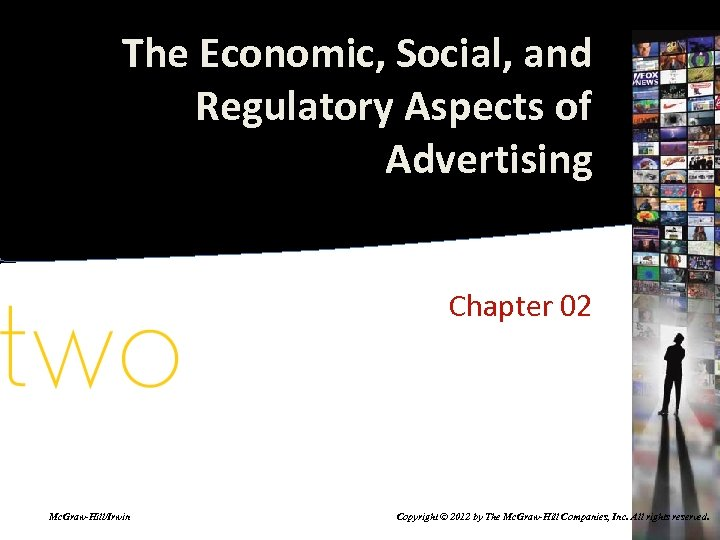 The Economic, Social, and Regulatory Aspects of Advertising Chapter 02 Mc. Graw-Hill/Irwin Copyright ©