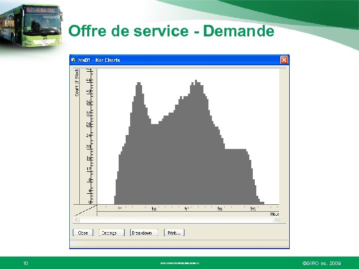 Offre de service - Demande 10 GIRO-STD-INTROGIROF(2009)-20090112 ©GIRO inc. 2009