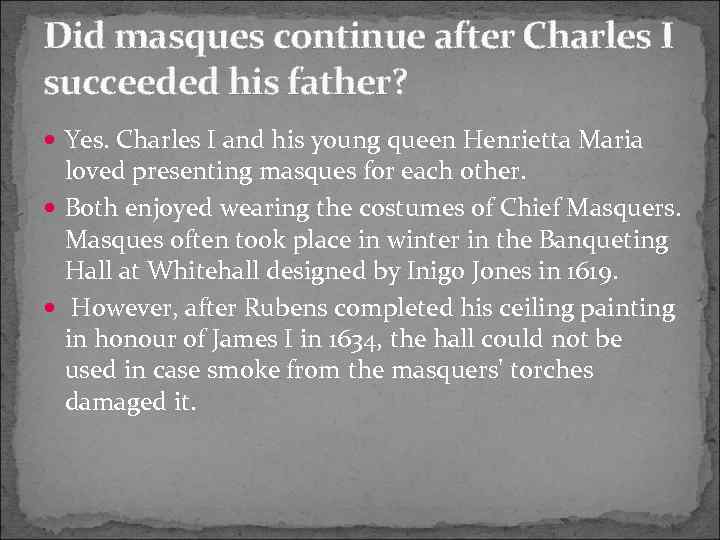 did charles i succeed in implementing Short biography of the personal life of the charles ix of france whom he knew to be waiting impatiently to succeed him as he grew up, charles ix.
