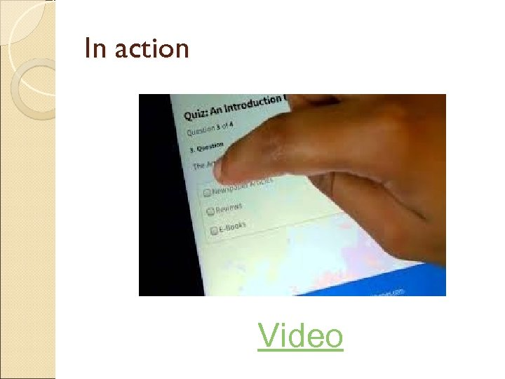 In action Video