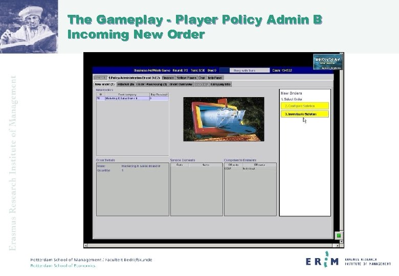 The Gameplay - Player Policy Admin B Incoming New Order