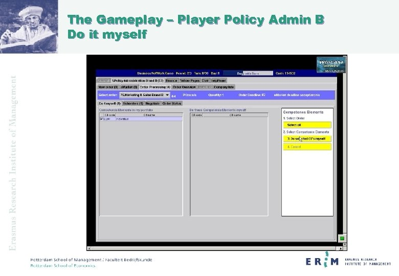 The Gameplay – Player Policy Admin B Do it myself