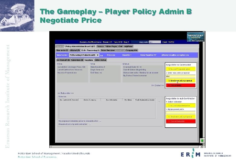 The Gameplay – Player Policy Admin B Negotiate Price
