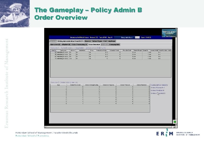 The Gameplay – Policy Admin B Order Overview