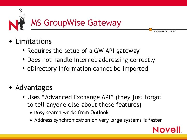 MS Group. Wise Gateway • Limitations 4 Requires the setup of a GW API