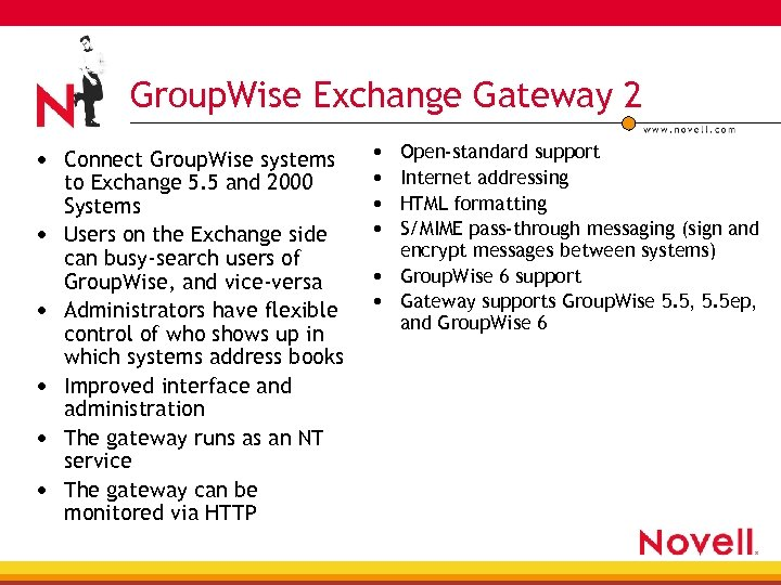 Group. Wise Exchange Gateway 2 • Connect Group. Wise systems • • • to