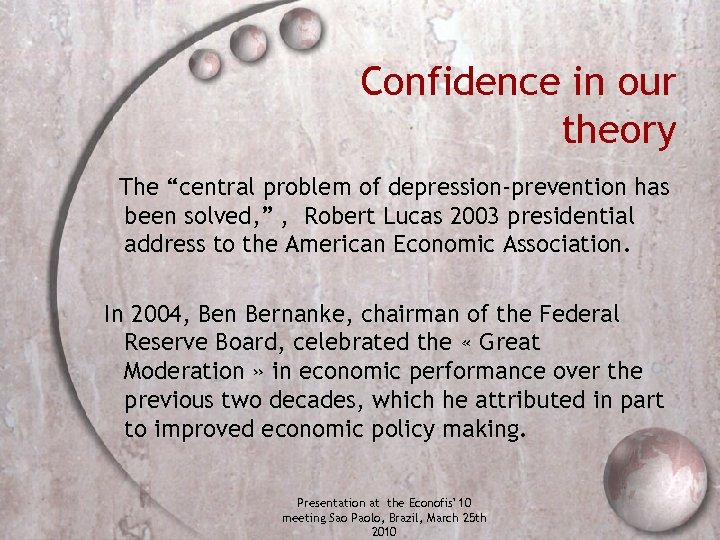 """Confidence in our theory The """"central problem of depression-prevention has been solved, """" ,"""