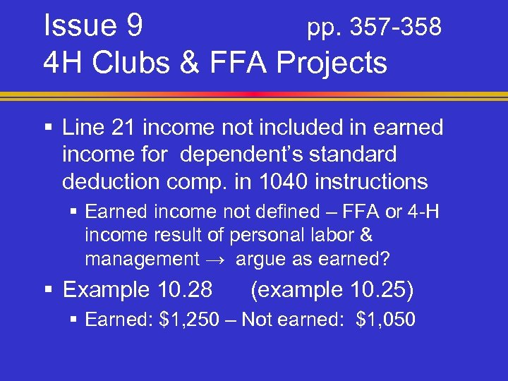 Issue 9 pp. 357 -358 4 H Clubs & FFA Projects § Line 21