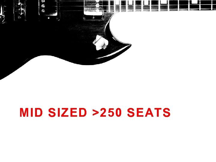 MID SIZED >250 SEATS