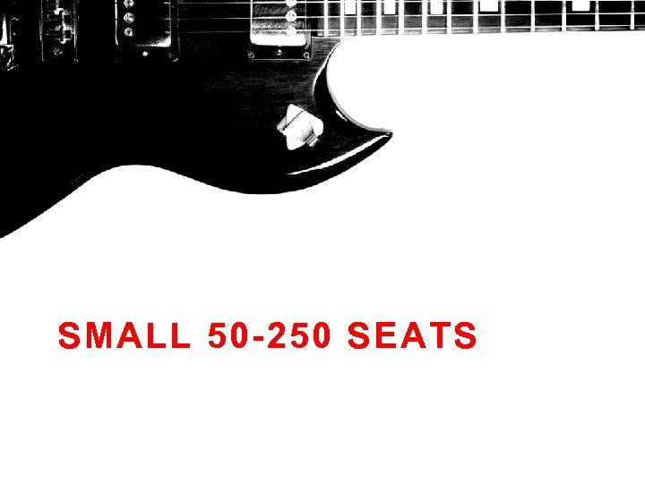 SMALL 50 -250 SEATS