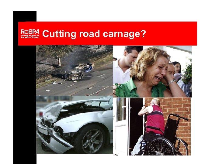 Cutting road carnage?