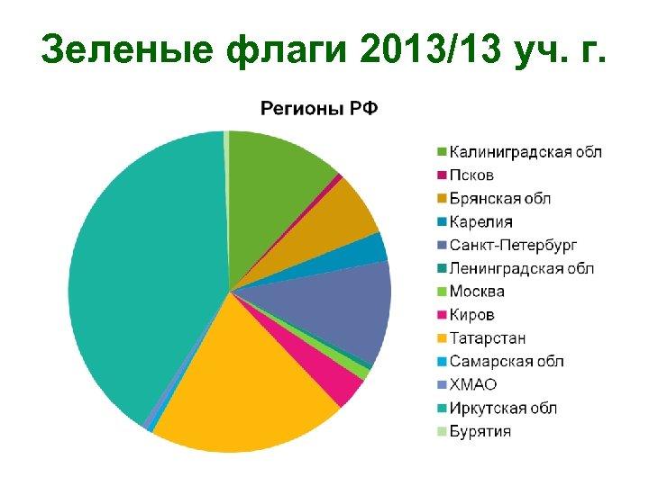 Зеленые флаги 2013/13 уч. г.
