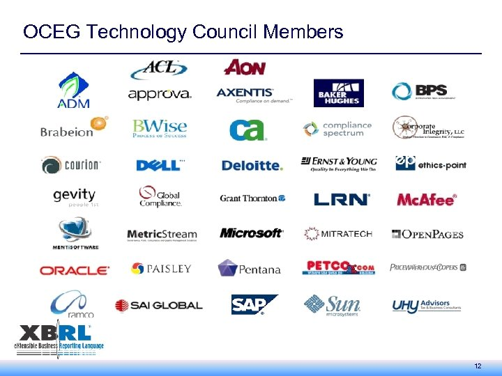 OCEG Technology Council Members 12