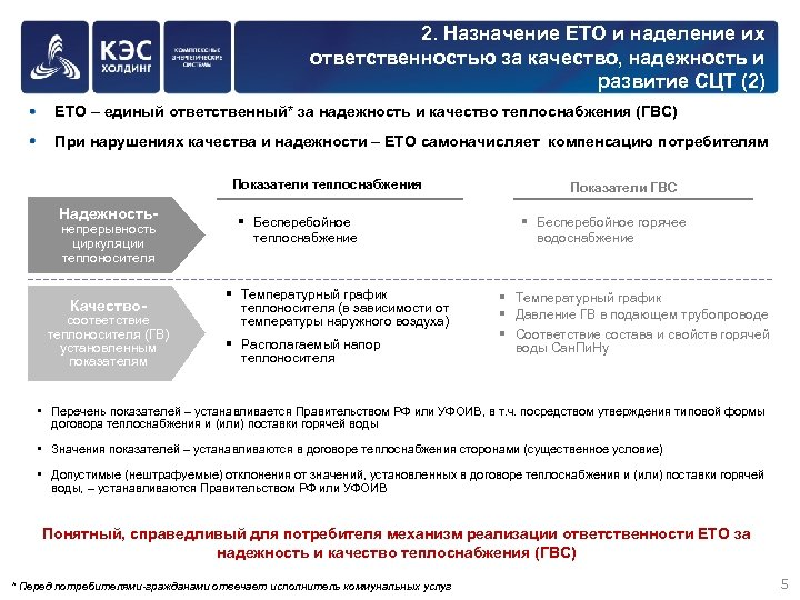 2. Назначение ЕТО и наделение их ответственностью за качество, надежность и развитие СЦТ (2)
