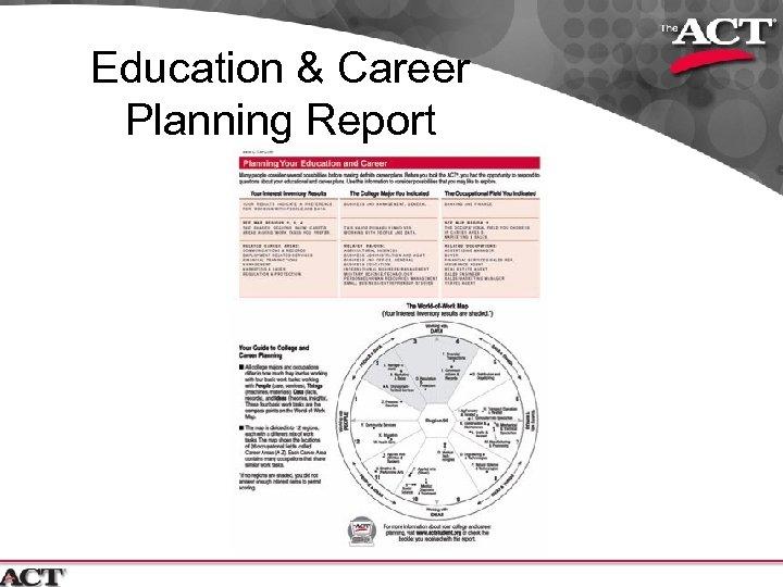 Education & Career Planning Report