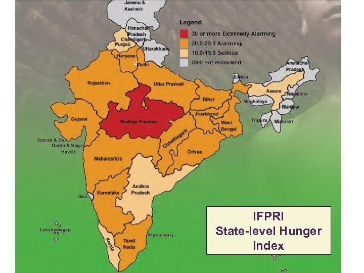 IFPRI State-level Hunger Index