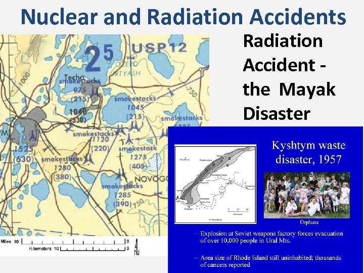 Nuclear and Radiation Accidents Radiation Accident - the Mayak Disaster