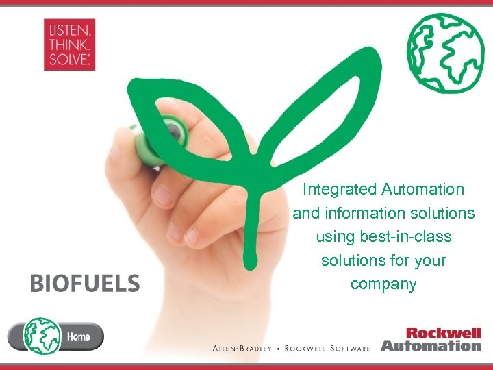 Integrated Automation and information solutions using best-in-class solutions for your company