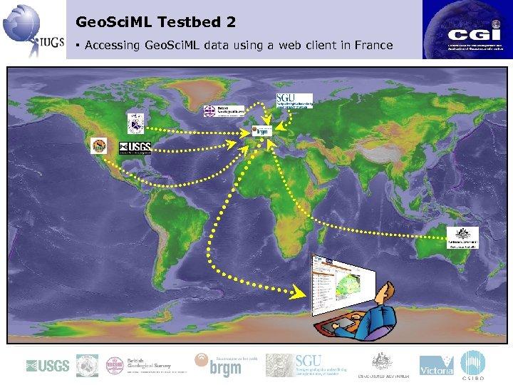 Geo. Sci. ML Testbed 2 ▪ Accessing Geo. Sci. ML data using a web