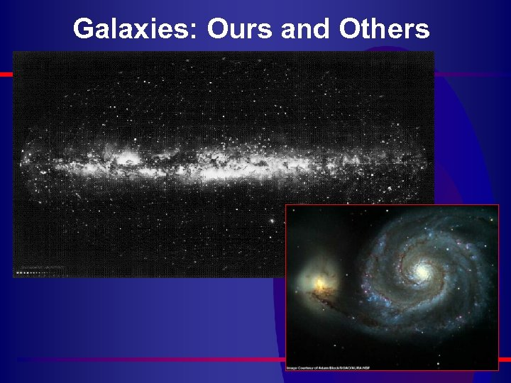 Galaxies: Ours and Others