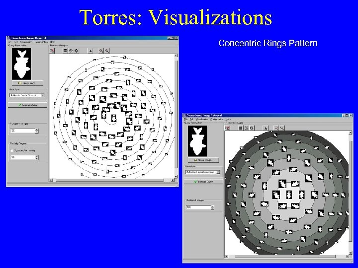 Torres: Visualizations Concentric Rings Pattern Spiral Pattern