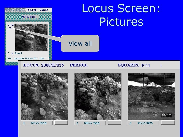 Locus Screen: Pictures View all