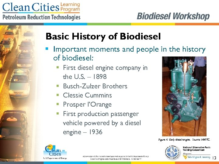 Basic History of Biodiesel § Important moments and people in the history of biodiesel: