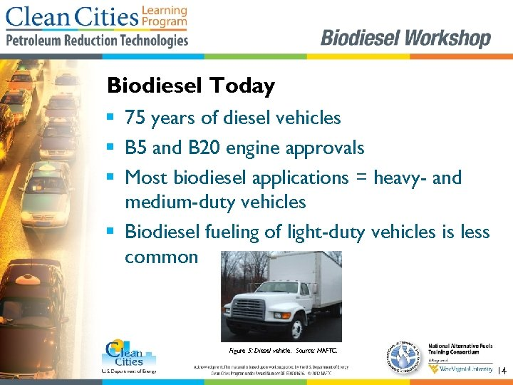 Biodiesel Today § 75 years of diesel vehicles § B 5 and B 20