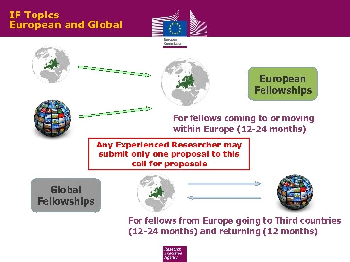 IF Topics European and Global European Fellowships For fellows coming to or moving within