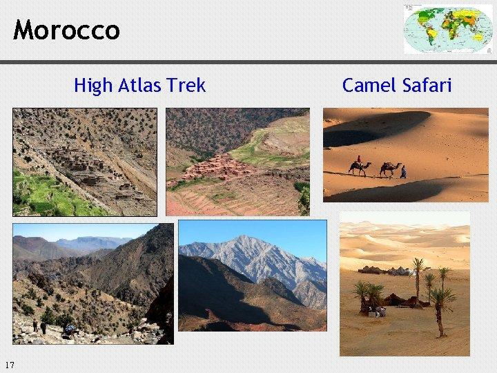 Morocco High Atlas Trek 17 Camel Safari