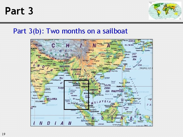 Part 3(b): Two months on a sailboat 19