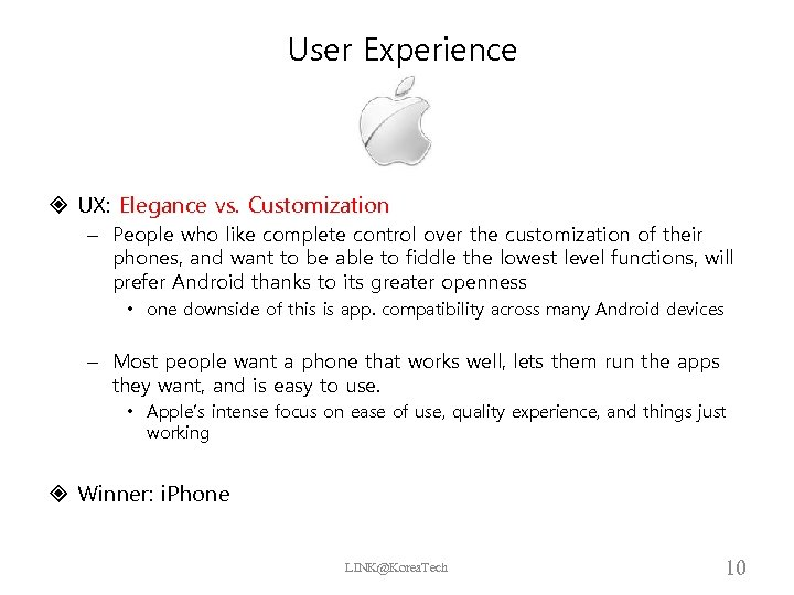 User Experience UX: Elegance vs. Customization – People who like complete control over the