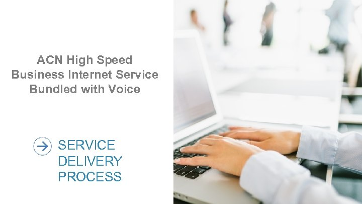 ACN High Speed Business Internet Service Bundled with Voice SERVICE DELIVERY PROCESS 15