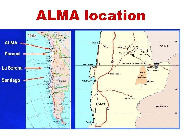 ALMA location