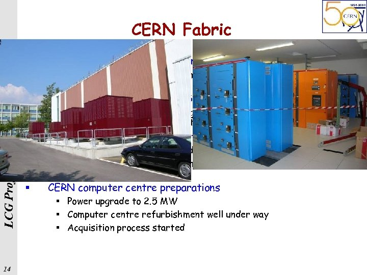LCG Project, Beijing 14 th May 2005 CERN Fabric 14 § Fabric automation has