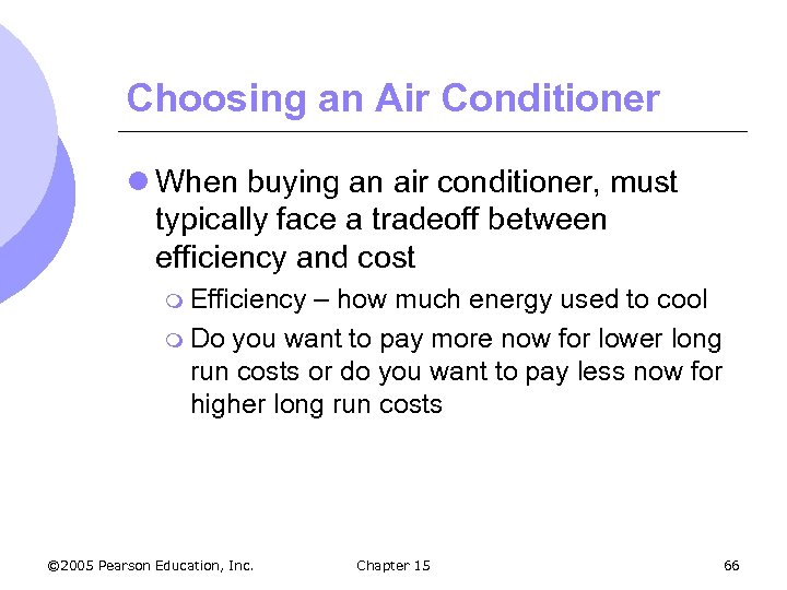 Choosing an Air Conditioner l When buying an air conditioner, must typically face a