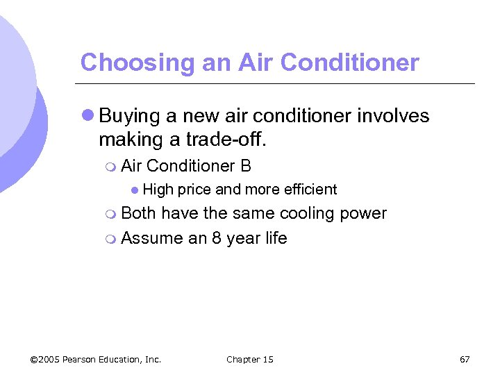 Choosing an Air Conditioner l Buying a new air conditioner involves making a trade-off.