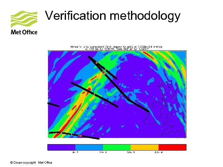 Verification methodology © Crown copyright Met Office