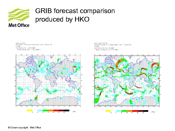 GRIB forecast comparison produced by HKO © Crown copyright Met Office