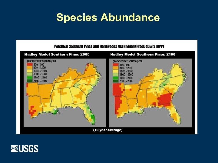 Species Abundance